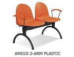 AMIGO 2-ARM Black PLASTIC